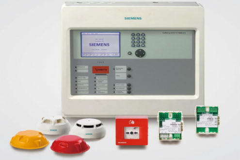 монтаж системы автоматической пожарной сигнализации и системы оповещения